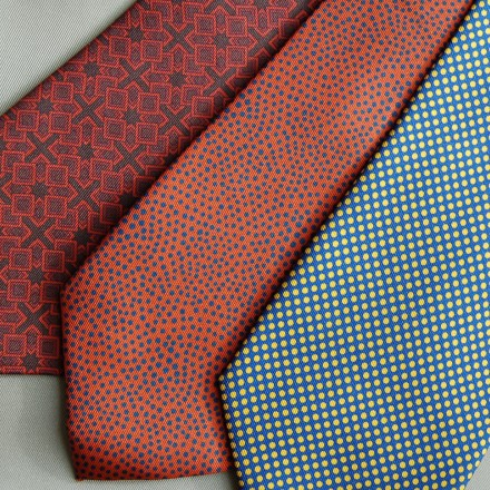 Thumbnail for Personalised Ties & Scarfs made with solar energy